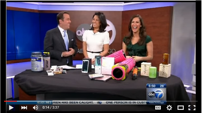 How to Stay Energized Through the Holidays & Gift Ideas As Seen on ABC Chicago