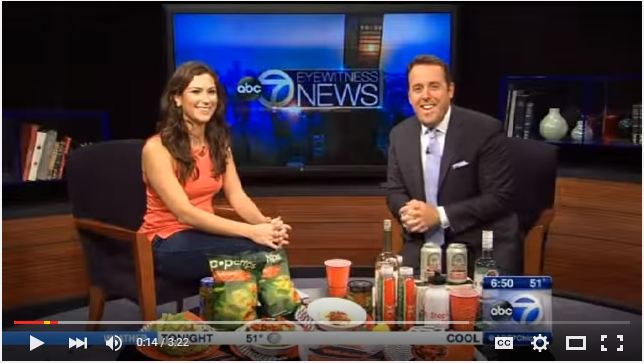 Healthy Football Tailgating Tips As Seen on ABC Chicago