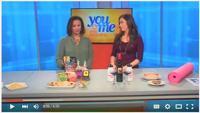 Indulging Safely on Thanksgiving As Seen on WCIU Chicago