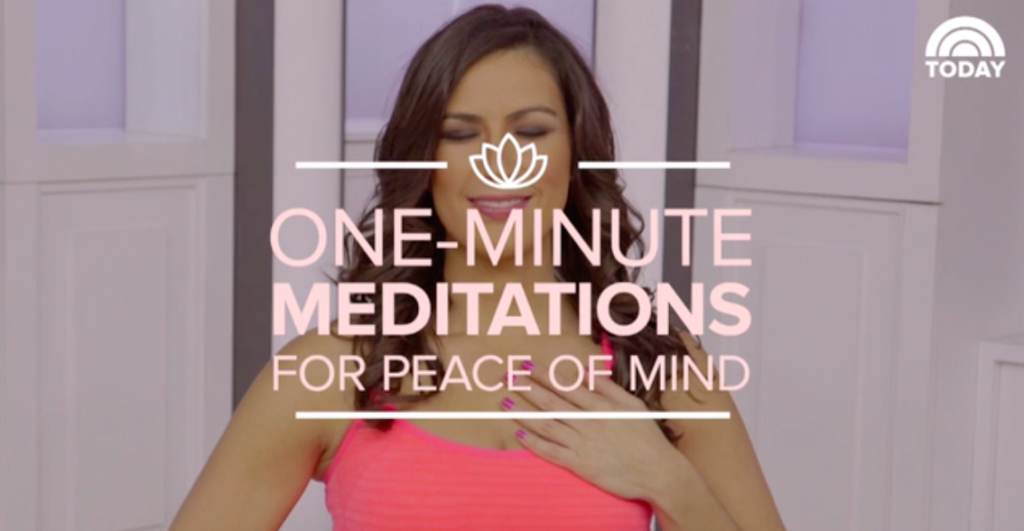 steph one-minute meditations for peace of mind