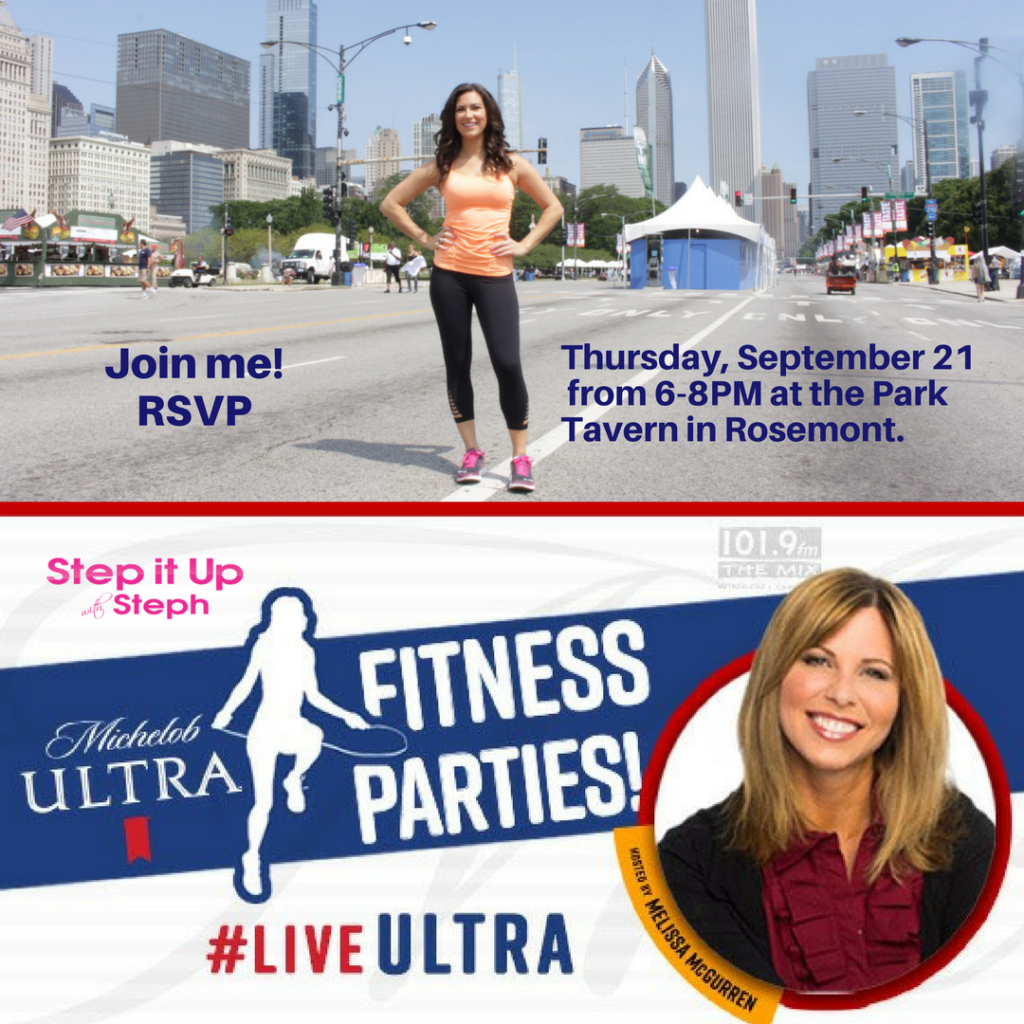 steph - Michelob Ultra Fitness Parties